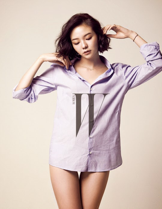 Lee Som - W Magazine April Issue 2014