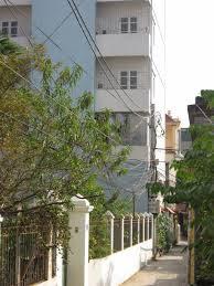Mặt chính tòa chung cư mini Phú Thượng A, quận Tây Hồ