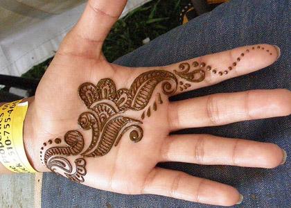 Simple Mehndi Mehndi Design : Bridal mehndi design henna designs for hands