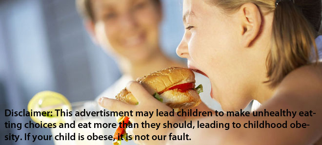 does advertising unhealthy food to children Food companies have been increasing their advertising to children for chips and other junk foods, according to a report released on monday.