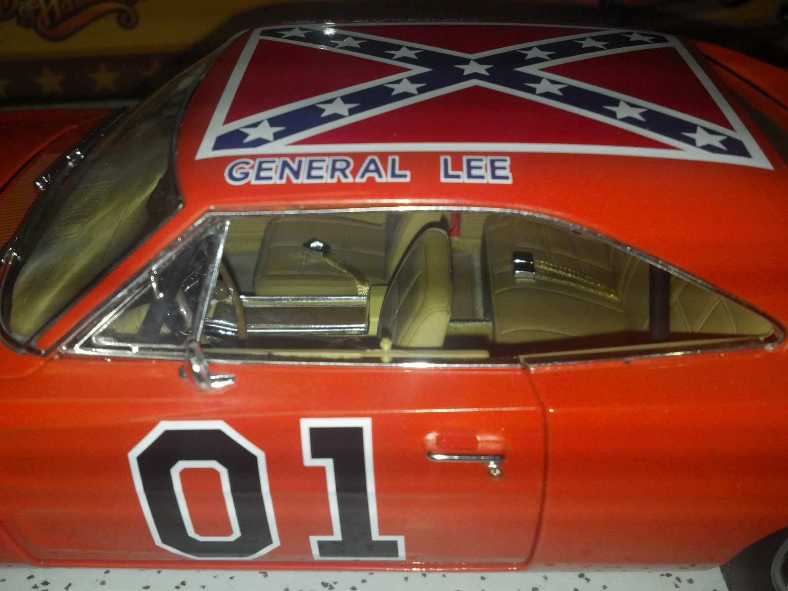 dukes of hazzard collector breaker one breaker one cooter 39 s has the auto world general lee in. Black Bedroom Furniture Sets. Home Design Ideas