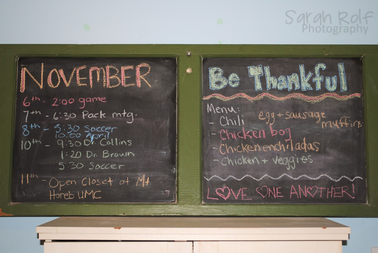 Merveilleux Project Pinterest: Kitchen Chalkboard Calendar And Menu Planner