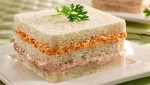 Receita de Sanduiche Gelado de Pão de Forma
