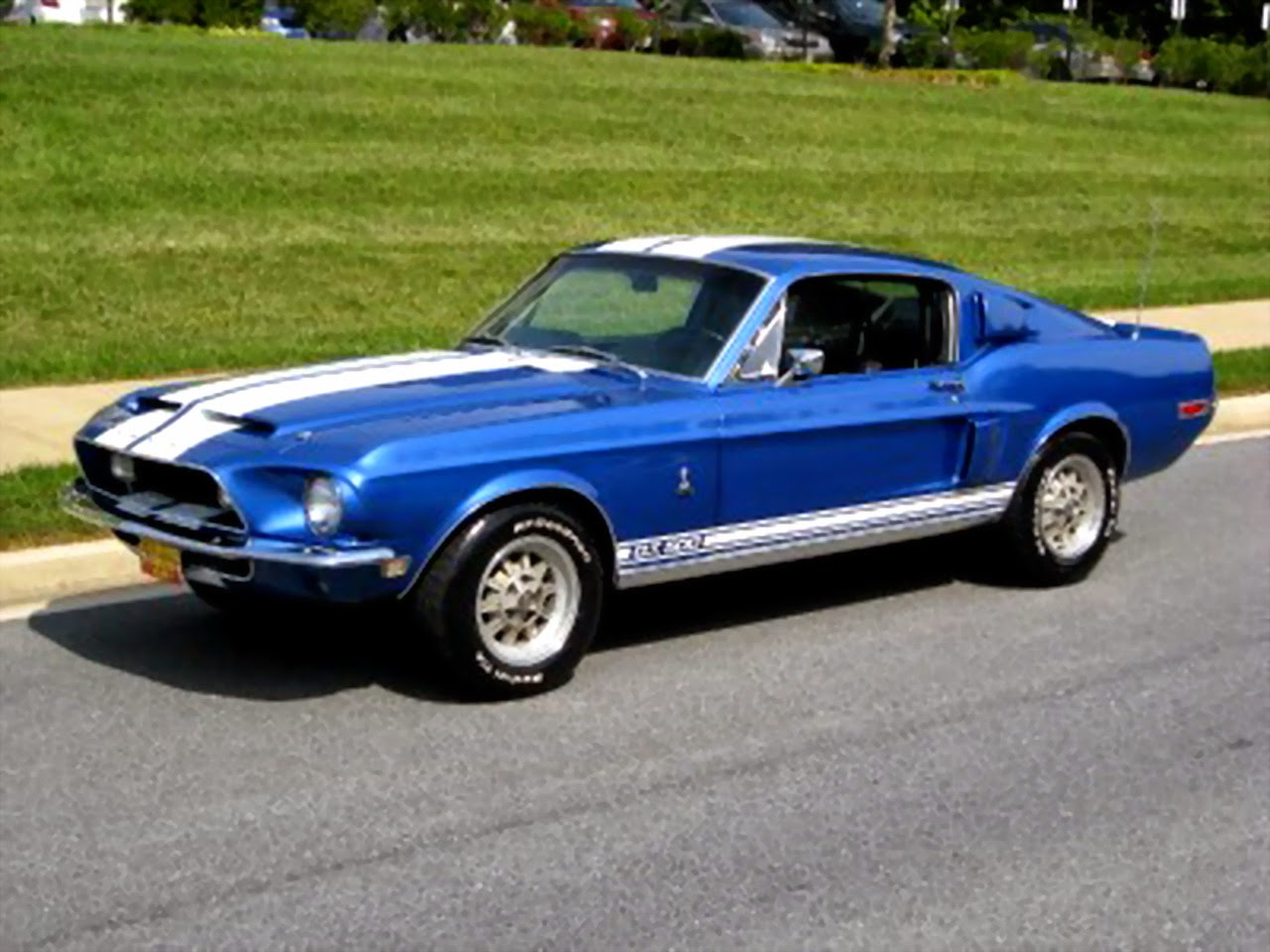 Ford mustang shelby 1968