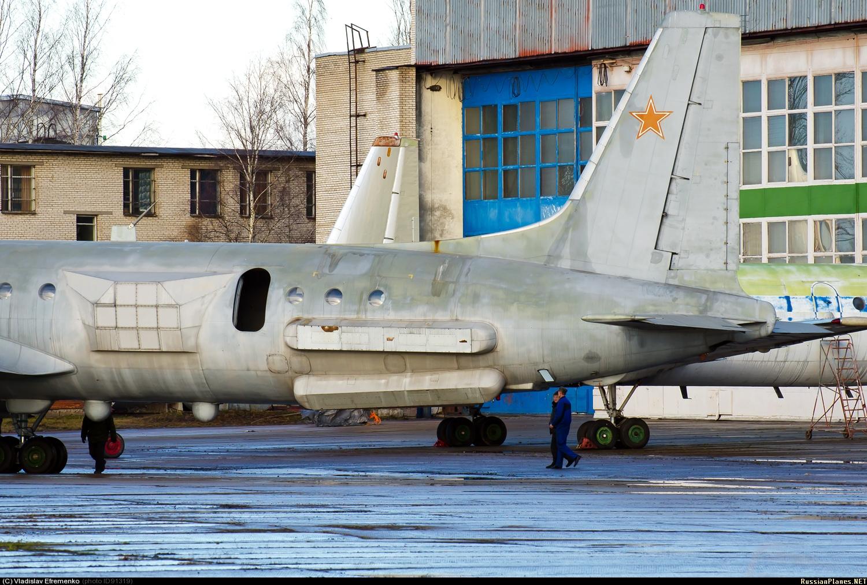 russie IL-20M+PUSHKIN+2012