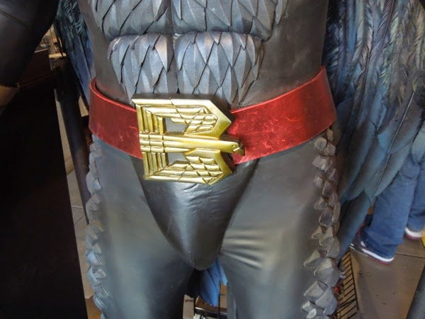 Birdman movie costume belt buckle