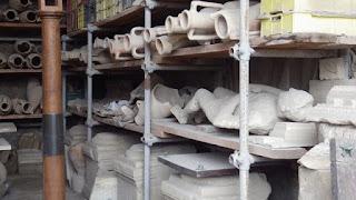 ポンペイの石膏像2
