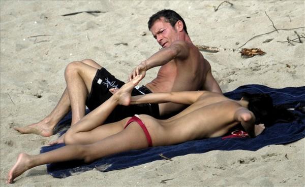 zhang ziyi topless bikini photo 04