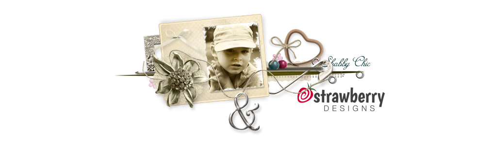 Strawberries Designs digital scrapbooking corner