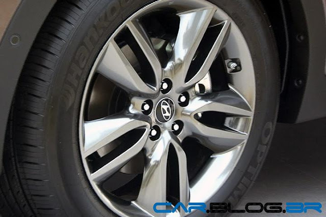 Hyundai Santa Fé 2013 - rodas