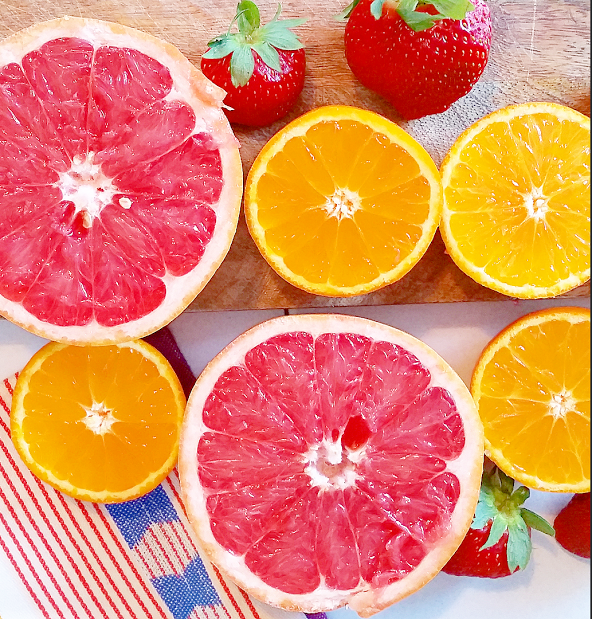 little island studios: Good Morning Broiled Grapefruit!