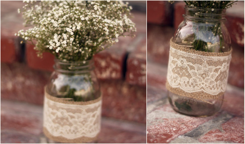 Domesticated delight wedding planning wednesday diy mason jar wedding planning wednesday diy mason jar centerpieces junglespirit Image collections