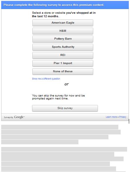 contoh halaman dari konten premium