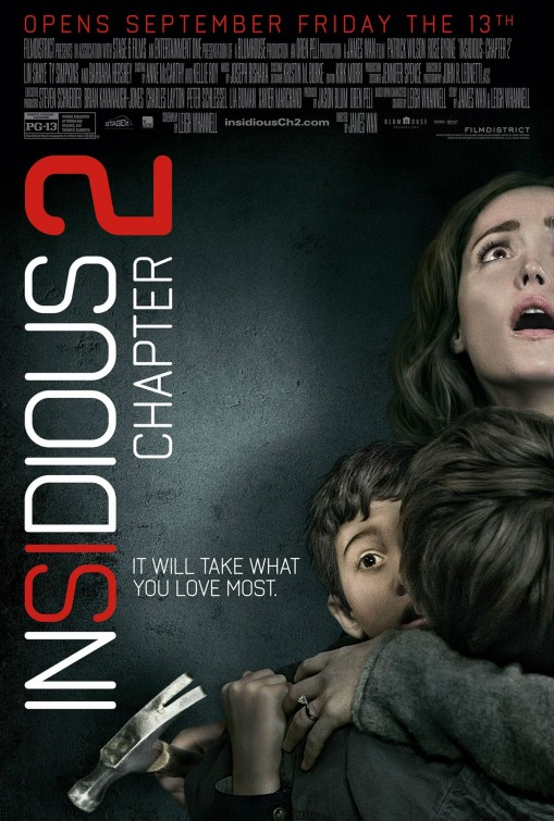 Insidious Chapter 2 movie poster