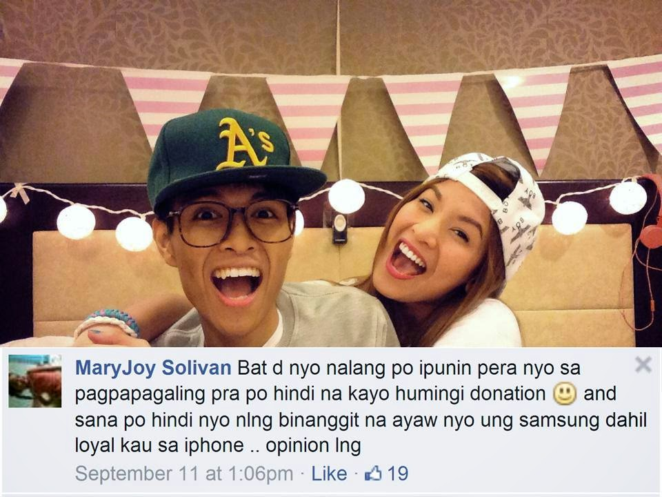 Jamich Bashed after iPhone 6 post | NEWSPH