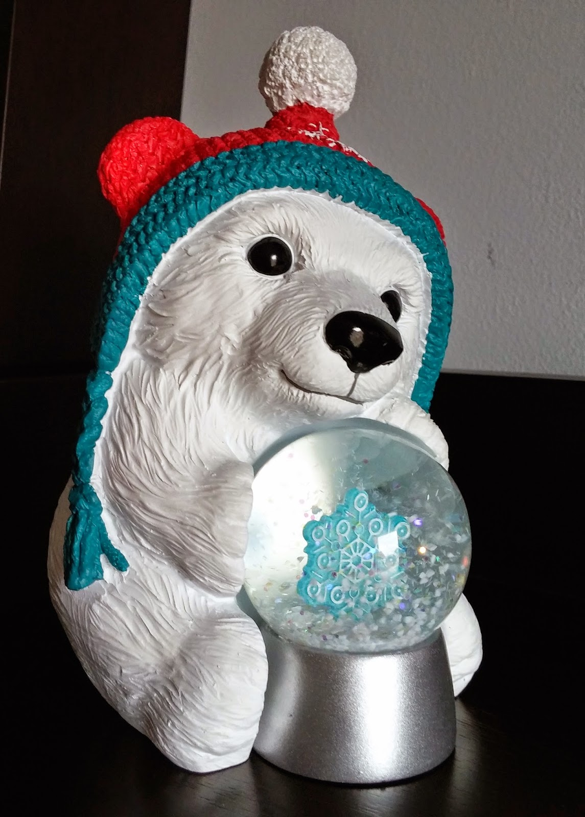 Hallmark Holiday Gifting - Snowby Polar Bear Snow Globe