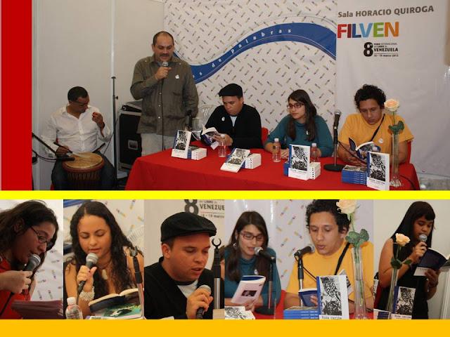 Presentación de ROSA CARIBE EN filven Capítulo Caracas