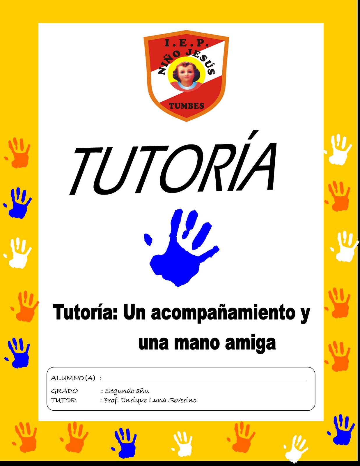 PORTADA DE FOLDER PARA TUTORÍA