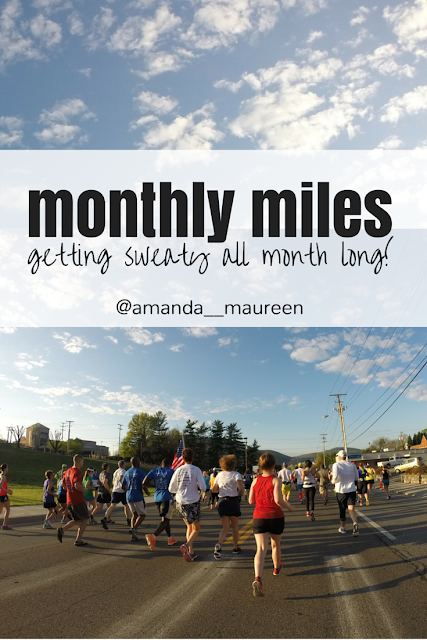 Monthly Miles, Running, HIIT, Strength Training