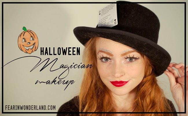 Halloween Magician Makeup