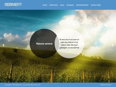 Adament WordPress Theme