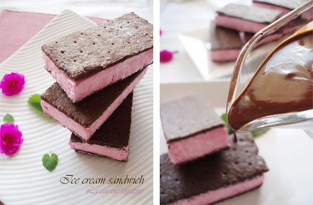 La cuisine creative: Classic ice cream sandwich