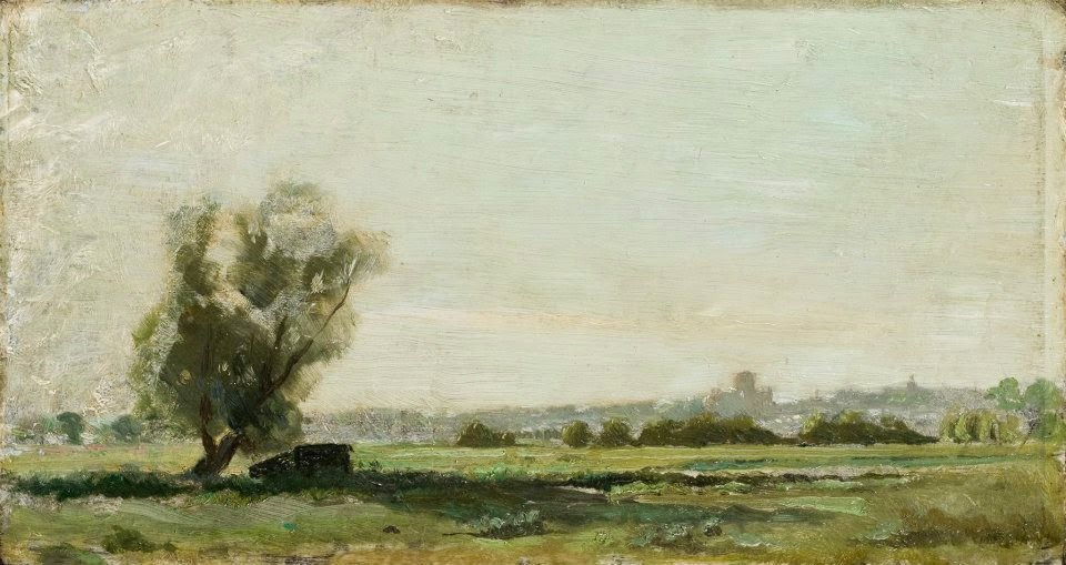 Sopwell Meadows by George Henry Moon