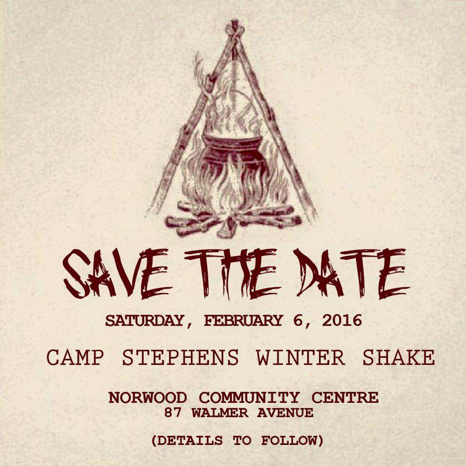 Camp Stephens Winter Shake