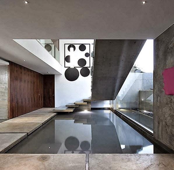 Fachada y planos de una casa moderna frente al mar - Detalles de decoracion para casa ...
