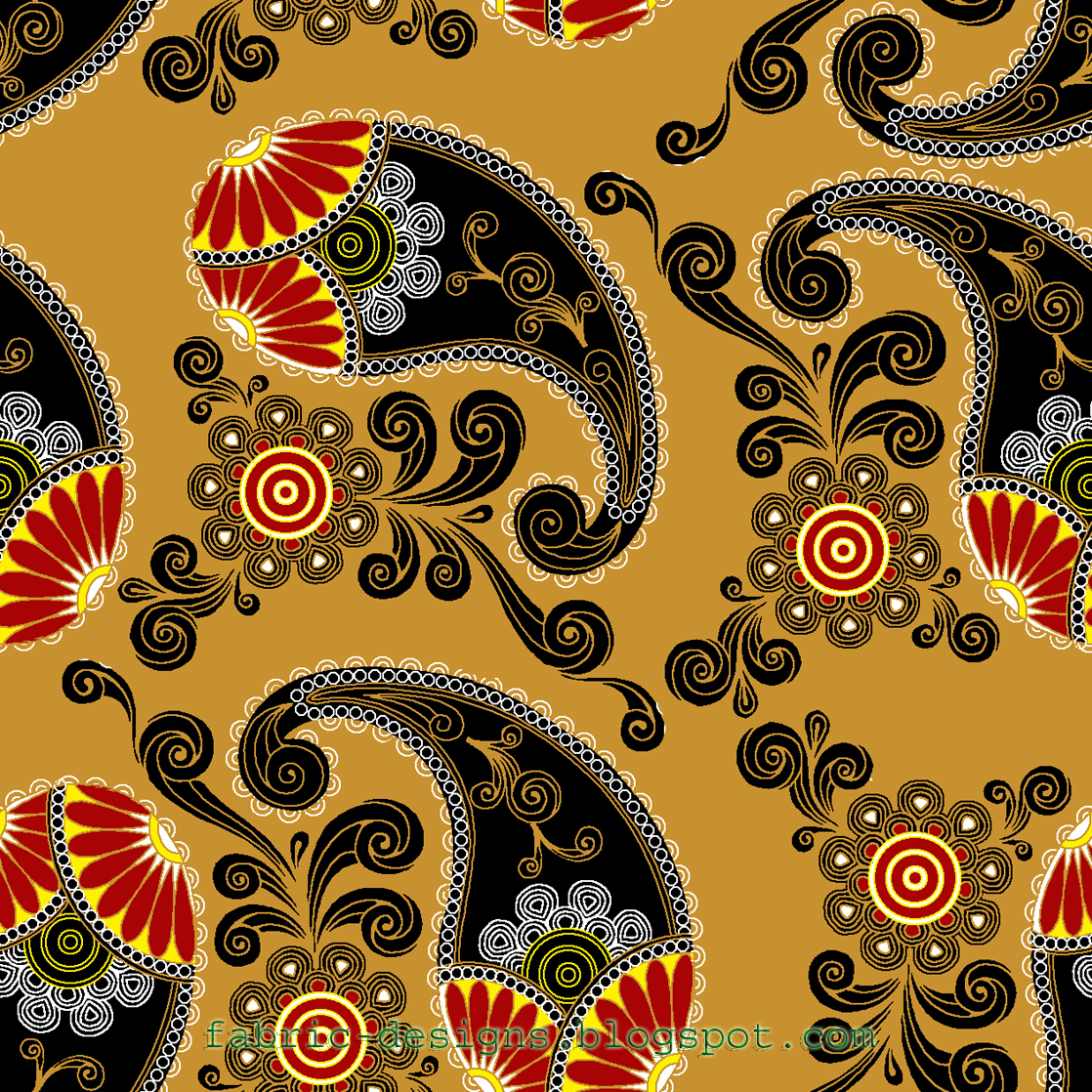 Fabric designs patterns textile patterns royalty free for Fabric pattern
