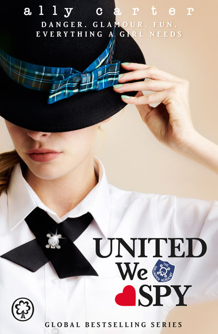 The Queen Of Teen Fiction Review United We Spy By Ally Carter