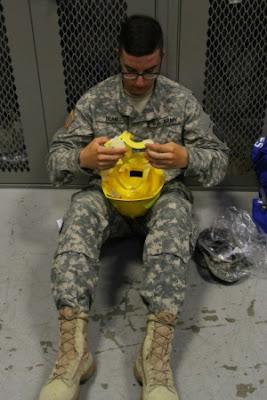 Assembling helmet