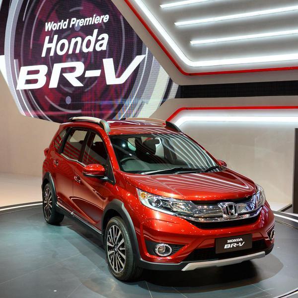 Honda-BR-V ஹோண்டா பிஆர் வி எஸ்யூவி இந்தியா வருகை - 2016