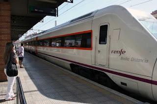 Tren de Media Distancia de Almería
