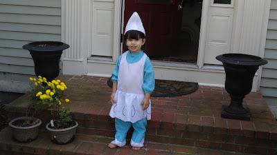Halloween fun   My Little Smurfette!