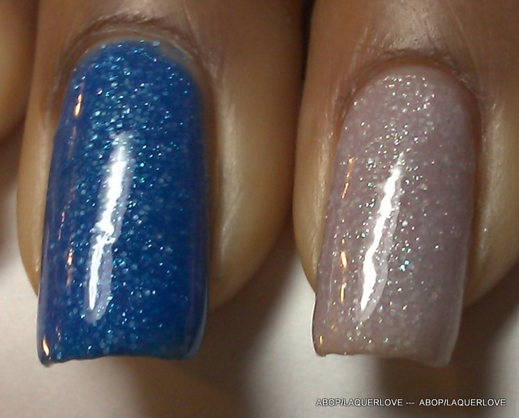 ANOTHER Bottle of Polish?!: Franken rescue with Mia Secret Tint - Blue