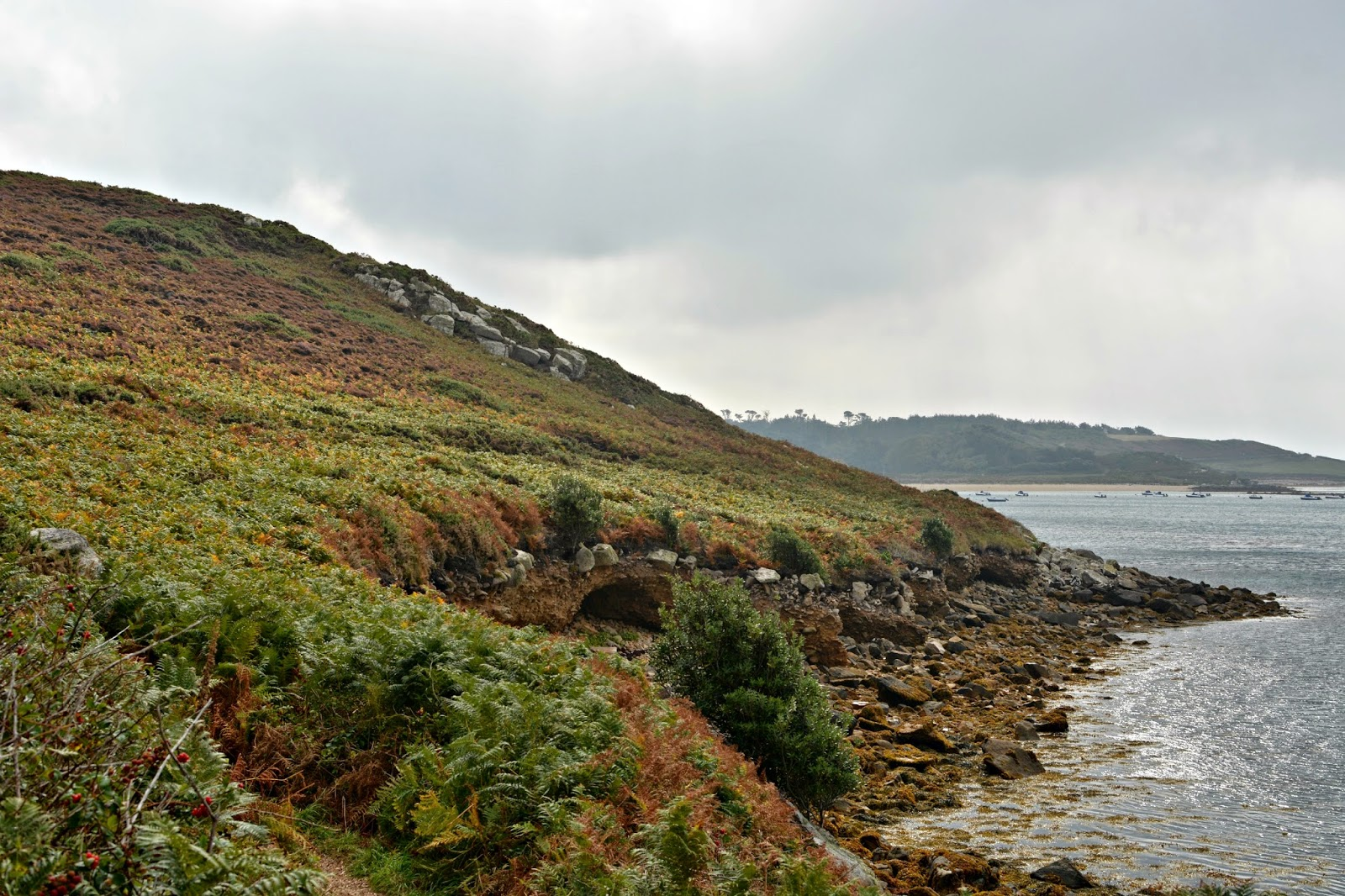 Tresco's rugged coastal path