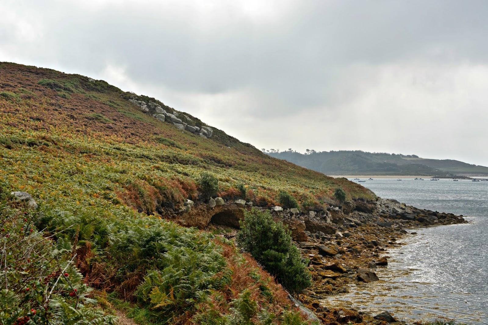 Tresco's rugged coastal path