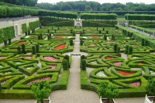 The Chateau Villandry