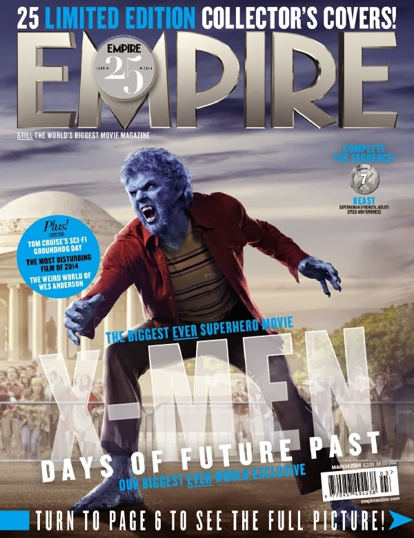 Empire covers X-Men: Days of Future Past: Beast