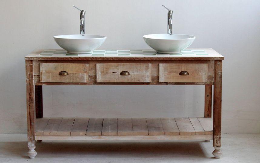 Decorando y renovando restaurando muebles para el ba o - Muebles antiguos para banos ...