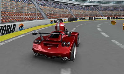 KartWorld 3D pe Facebook