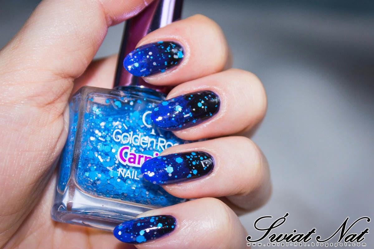 nails nailart carnival glitter ombre wibo