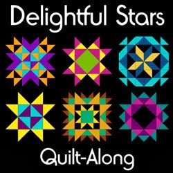 Delightful Stars Quilt-A-Long