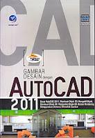 toko buku rahma: buku AUTOCAD 2011, pengarang wahana komputer, penerbit andi