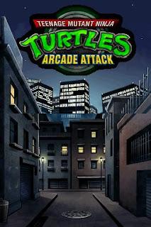 Teenage Mutant Ninja Turtles arcade game portable flyer