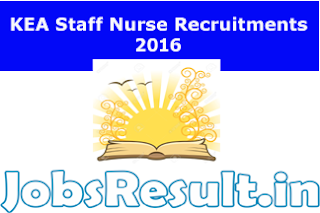 KEA Staff Nurse Recruitments 2016