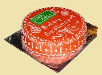 Citromos-túrós torta