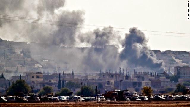 ISIL shelling Kobani
