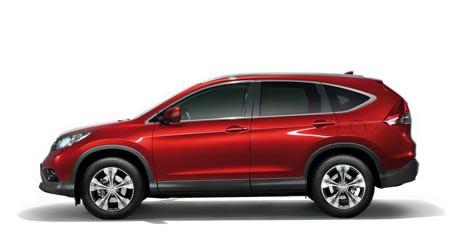 Spesifikasi Honda CRV 2013